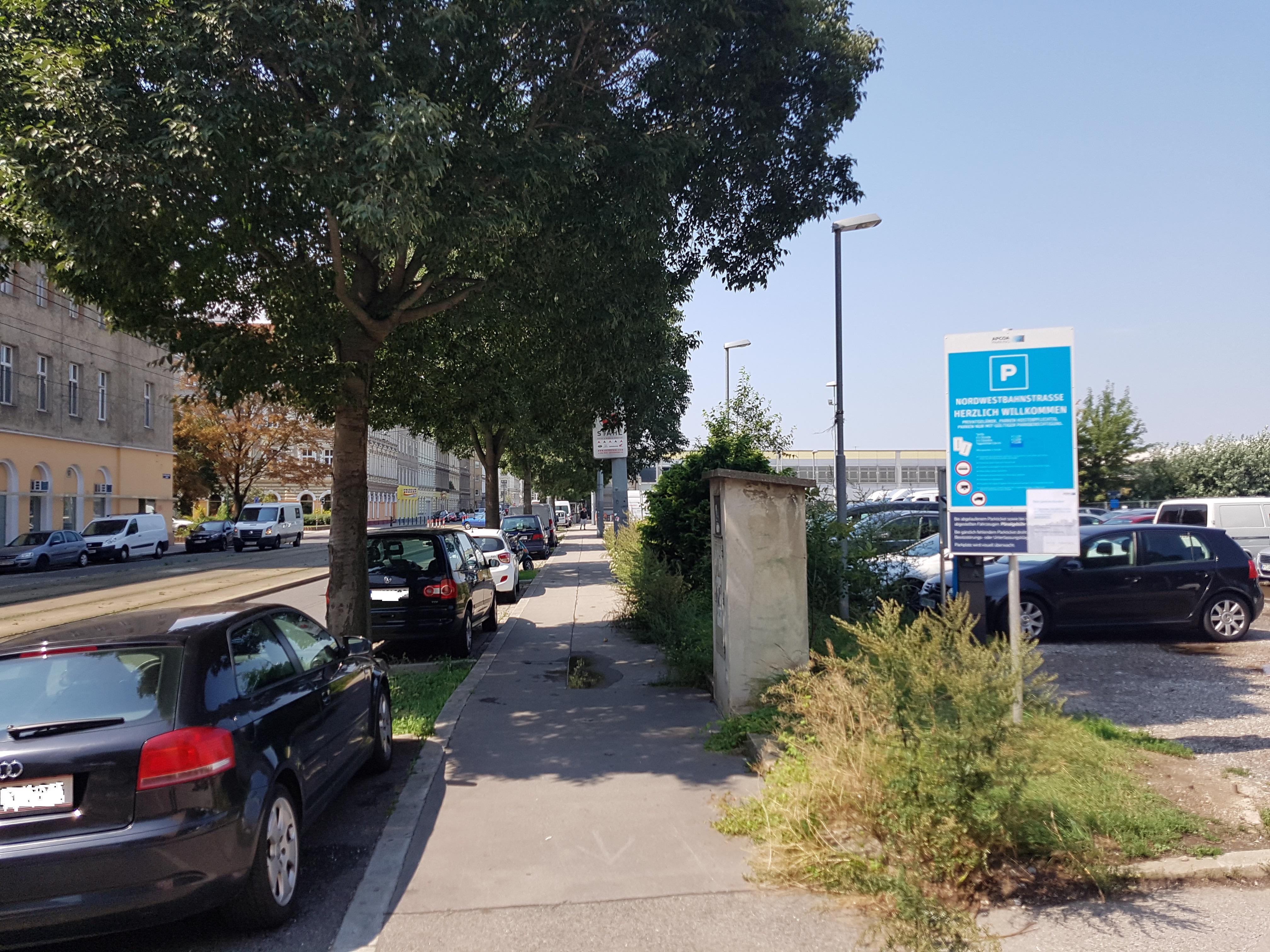 Parken In Parkplatz Nordwestbahnstraße Wien Apcoa Apcoa Parking
