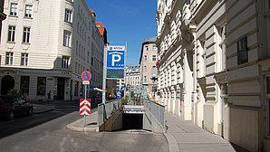 Parken In Tiefgarage Schlesingerplatz Wien Apcoa Apcoa Parking