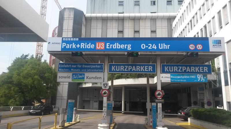 Parken In Parkhaus Pr Erdberg Wien Apcoa Apcoa Parking