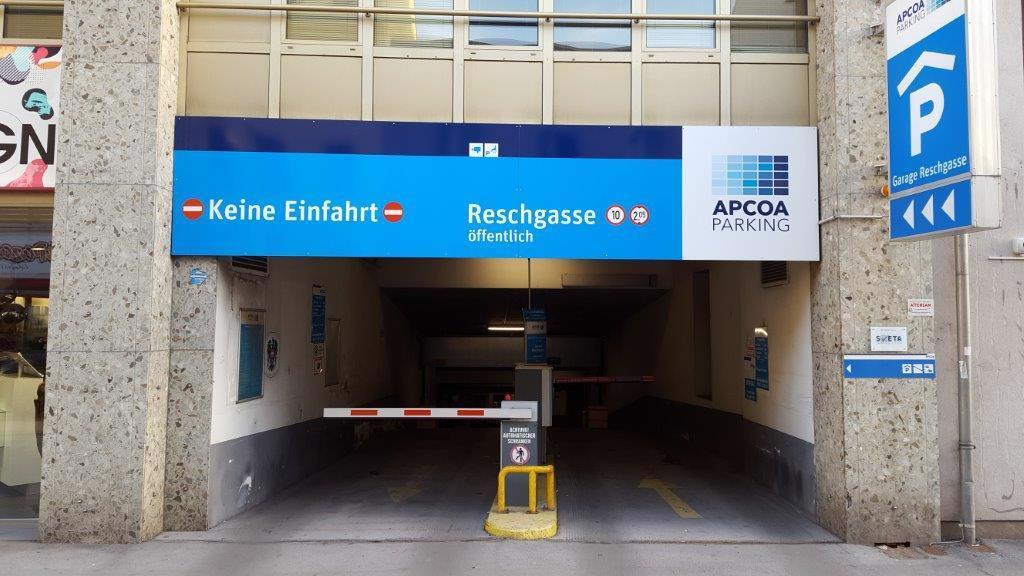 Parking In Tiefgarage Reschgasse Wien Apcoa Apcoa Parking