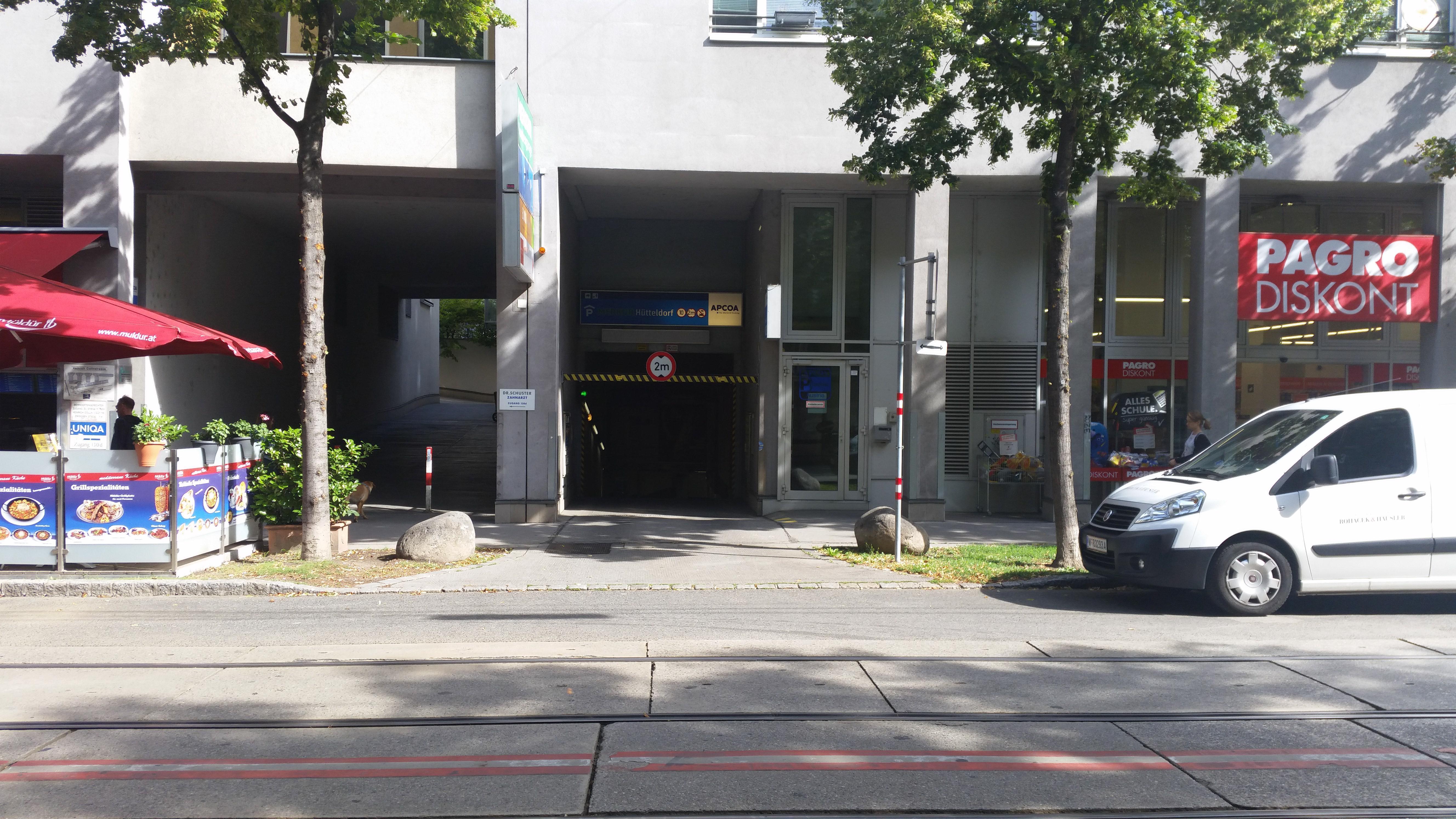 Parken In Tiefgarage Hütteldorferstrasse Wien Apcoa Apcoa Parking