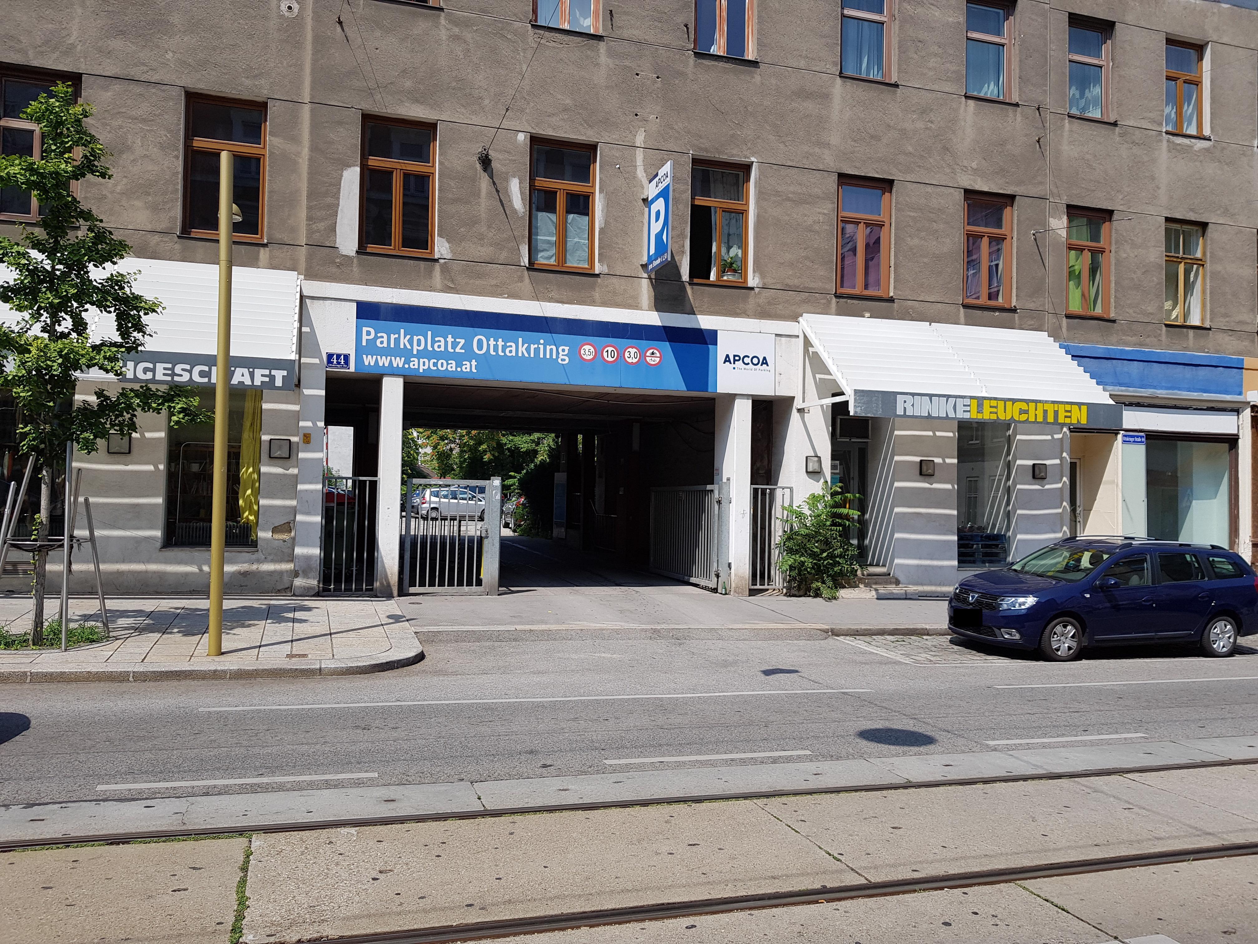 Parking In Parkplatz Ottakringer Strasse Wien Apcoa Apcoa Parking