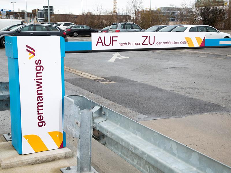 Car Park Barrier Advertising